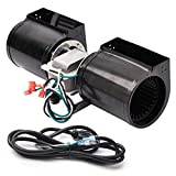 Replacement Fireplace Blower for Heat N Glo, Hearth and Home, Quadra Fire, GTI Fireplace, GFK-160A GFK-160 Fireplace Blower Kit for Heat N Glo 6000clx sl7 sl-7 6000 8000clx 6000c Fireplaces