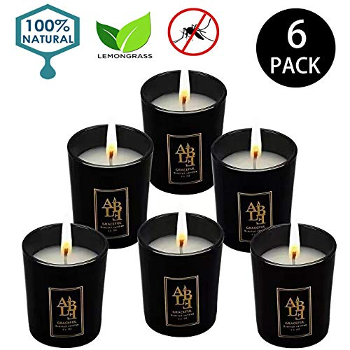 YYCH Soy Candle Lemongrass Citronella Natural Candle