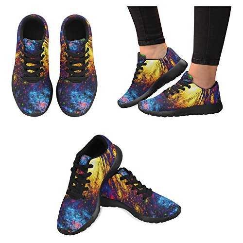 Interestprint Femmes Jogging Running Sneaker Léger Aller Facile À Pied Casual Confort Sportif Chaussures De Course Multi 12
