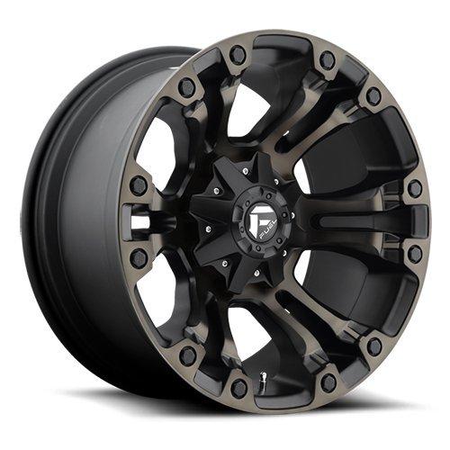 Fuel Offroad D569 Vapor 20x10 8x170 -18mm Black/Machined Wheel Rim