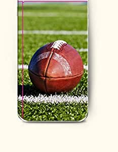 Case Cover For HTC One M7 Red rugby in the Field