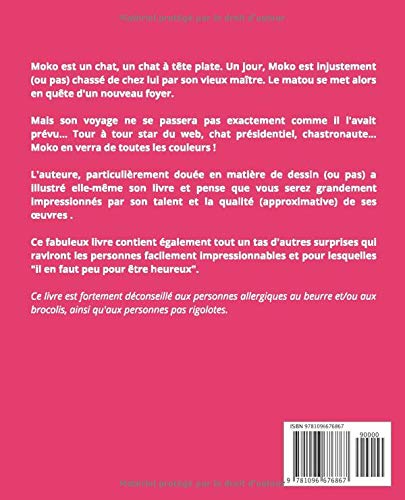 Moko Chat à Tête Plate French Edition Charlotte Bouillon