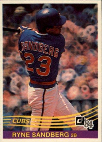 1984 Donruss Baseball Card #311 Ryne Sandberg (Ryne Sandberg Card)
