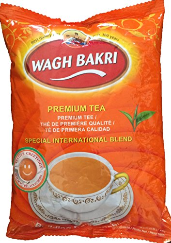 Wagh Bakri Black Premium Loose Tea From Assam Special International Blend (1 pound)