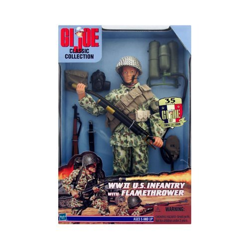 G.I. JOE WWII U.S. Infantry w/ Flamethrower