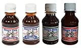 Blues Hog Barbecue Variety Pack: Original, Tennessee Red, Champions Blend, Smokey Mountain 4 oz each (Pack of 4) For Sale