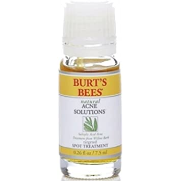 Burts Bees Natural Acne Solutions  Targeted Spot Treatment for Oily Skin, 0.26 oz TPLB Replacement Brush Heads With Caps Compatible with Mia, Mia2, Mia3 (Aria), SMART Profile, Alpha Fit, Pro, Plus and Radiance Cleansing-Delicate