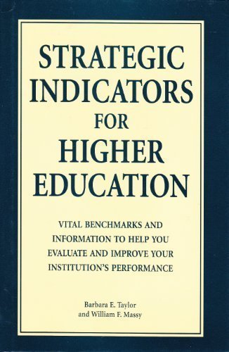 Strategic Indicators for Higher Education, 1996