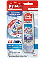 LePage 2282611 Re-New Specialty Silicone, 100ml, White