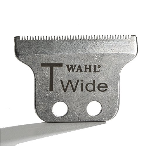 Wide Professional T-Wide Adjustable Trimmer Blade Set #2215 – For the 5 Star Series Detailer – Includes Oil, Screws & Instructions by Wahl Professional (Image #2)