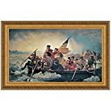 Design Toscano Washington Crossing the Delaware, 1851, Canvas Replica Painting: Large