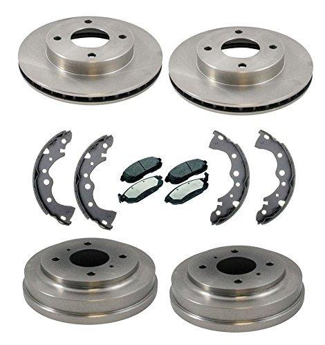 Nissan Rear Brake Drum - Mac Auto Parts 37353 Sentra 1.8L 4 Stud Front Rotors & Brake Pads Rear Drums & Brake Shoes