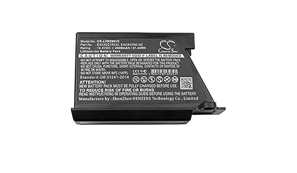 Batería para Robot-Aspirador LG Modelo EAC62218202: Amazon.es: Electrónica