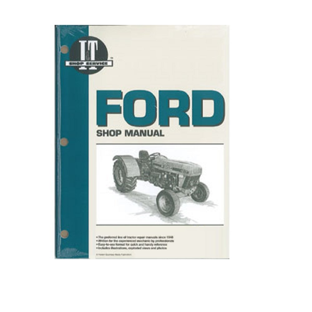Amazon.com: FO47 New Tractor Shop Manual made for Ford New Holland 3230  3430 3930 4630 4830: Industrial & Scientific