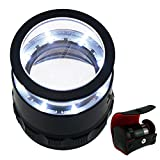 10x with 25mm with LED, Focused Eye Loupe Jewelry