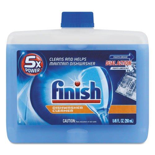 Finish Dishwasher Cleaner, Fresh, 8.45 oz. Bottle (6/Carton) - BMC-RAC95315