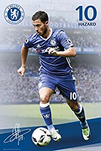 GB Eye LTD, Chelsea, Hazard 16/17, Maxi Poster, 61 x 91,5