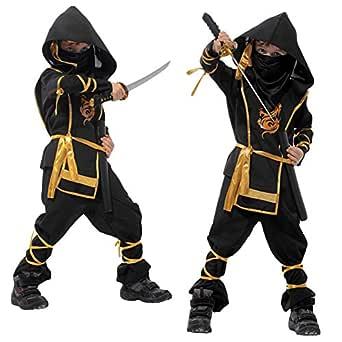 Brave Pioneer niño guerrero Ninja Ninja asesino traje ...