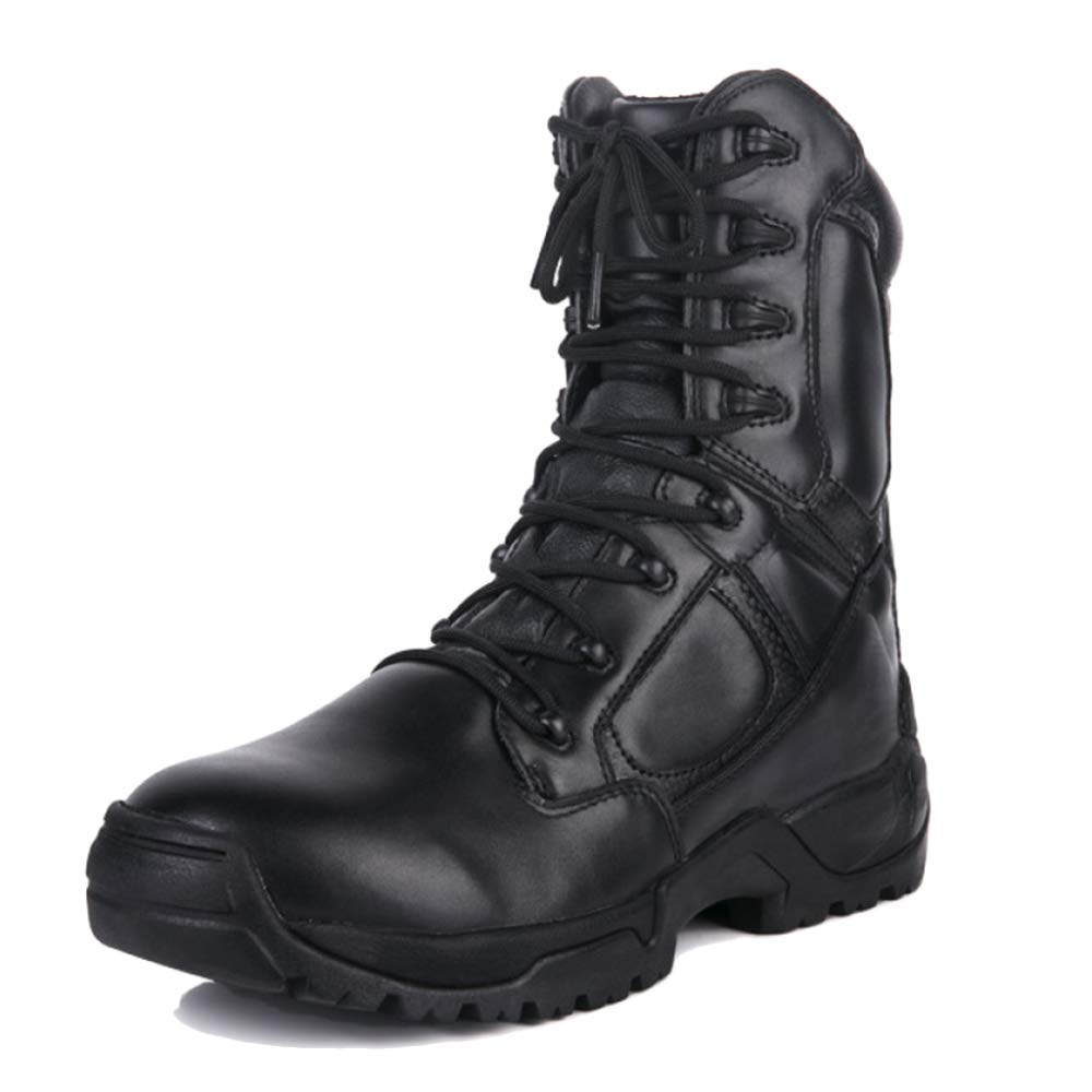 Black Mens Hiking Camping Treking Army Military Martin Boots Combat Boots Outdoor Anti-collision Toe Cap Tactical Desert shoes Boots