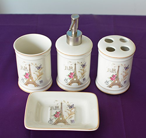 antique bathroom decor set amazoncom