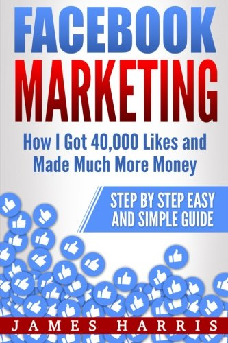 51ufN18gkIL - Facebook Marketing: How I Got 40,000 Likes and Made Much More Money – Step by Step Easy and Simple Guide
