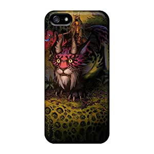 Hot Snap-on Monster Horse Hard Covers Cases/ Protective Cases For Iphone 5/5s Black Friday