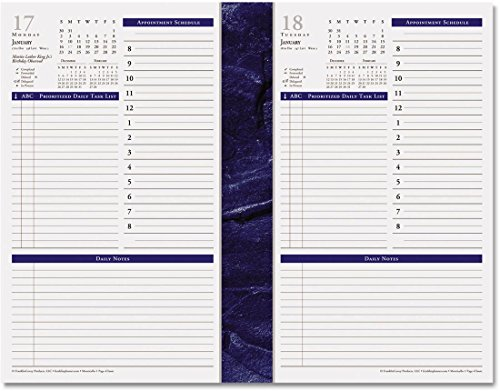 Franklin Covey Classic Monticello Dated Two-Page Per Week Planner Refill, 37062-18 2018 (Monticello Monthly Planner Refills)