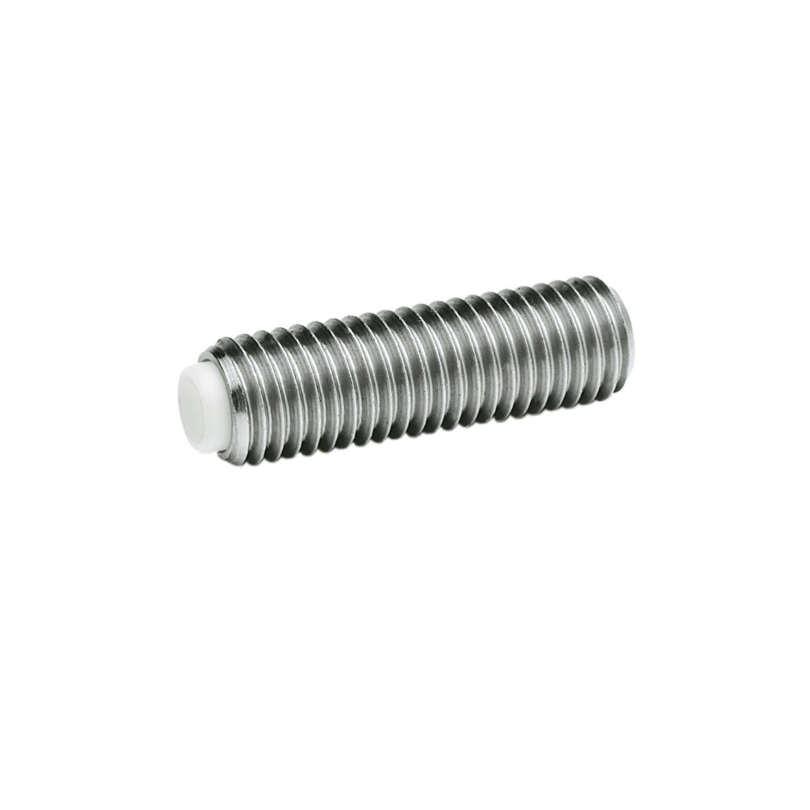 Body: Stainless Steel European Standard 1.4305 American Standard 303 J.W M3 x 0.5 Thread 5 mm Stud Length Otto Ganter Winco 3N5P69//DNT Set Screw with Nylon Tip