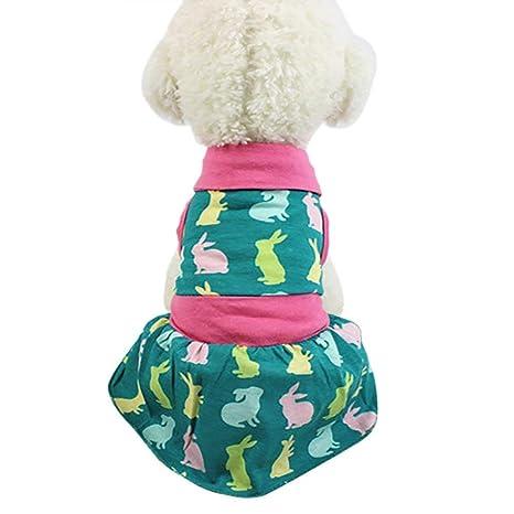 LLYU Nueva Falda para Mascotas Ropa para Perros y Gatos ...