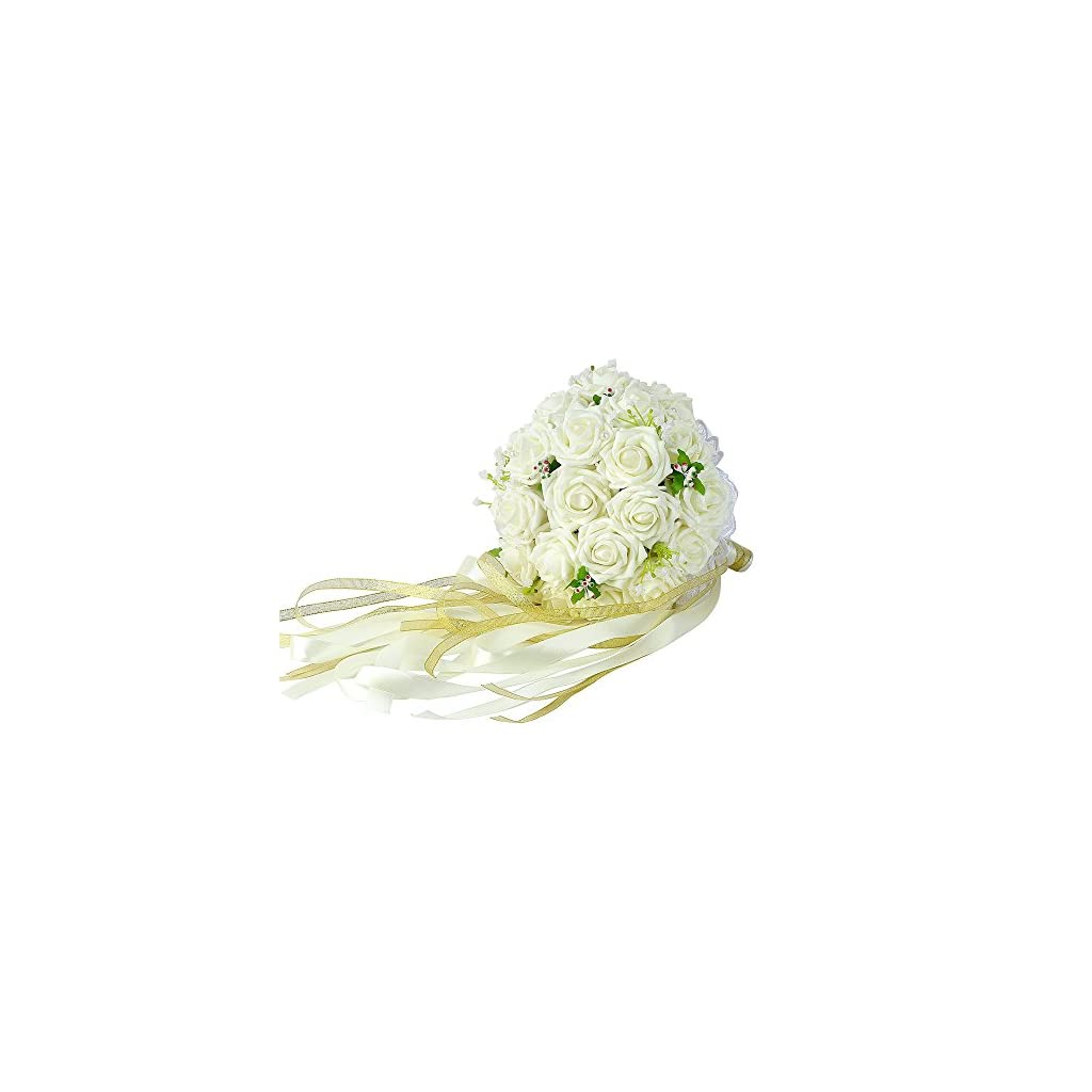 Febou-Wedding-Bouquet-Crystal-Roses-Bridesmaid-Bouquet-Bridal-Bouquet-Artificial-Flowers-for-Wedding-Party-and-Church