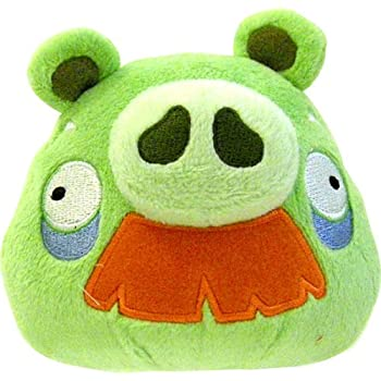 Angry Birds 8 Inch DELUXE Plush Toy Grandpa Pig with Moustache