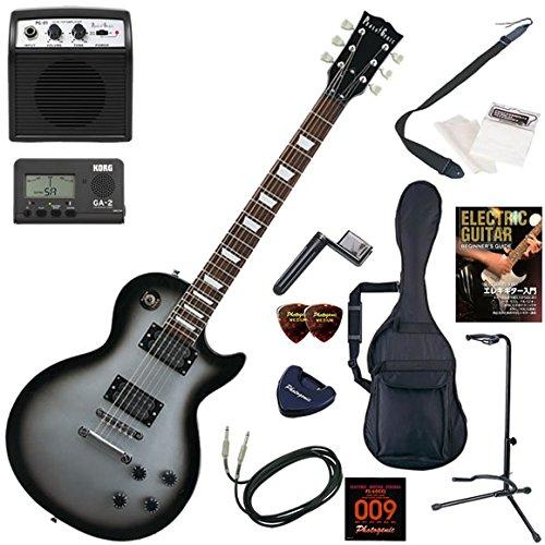 Photogenic エレキギター 初心者 入門 レスポールタイプ ミニアンプが入ったお手軽13点セット LP-260/SVB(シルバーサンバースト) B004C8QCUS  SVB(シルバーサンバースト)