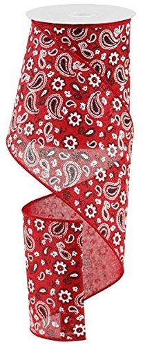 red bandana ribbon - 6
