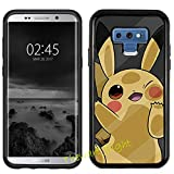 Case for Samsung Galaxy Note 9, Pokemon Manga Anime Comic PC + TPU 2in1 Hybrid Case Cover + Thewart8 Stylus Pen (#070)