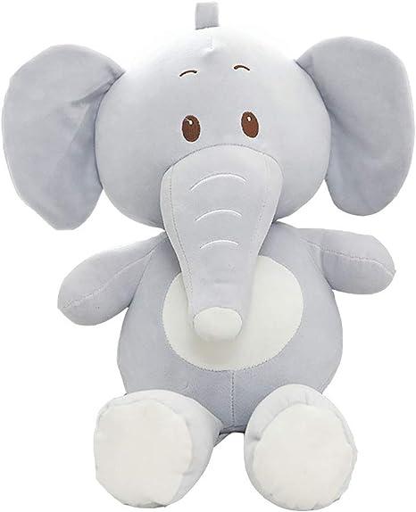 SMILINGGIRL Juguete De Peluche De Dibujos Animados, Elefante ...