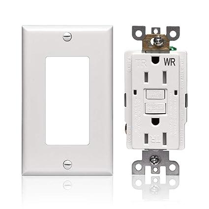 Amazon.com: GFCI Receptacle Outlet 15 amp - Weather ...