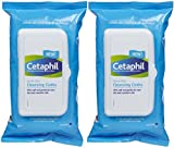 Cetaphil Cleansing Cloth Cetaphil Gentle Skin Cleansing Cloths, 25 Sheets, (PACK OF 2)
