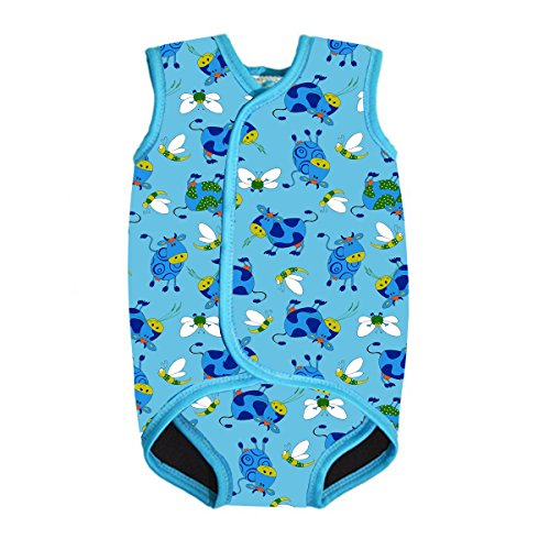 (MyTeng Baby/Toddler Wetsuit Vest with UPF50 Design for Boys/Girls (X-Large (2-3 Years), Cow))