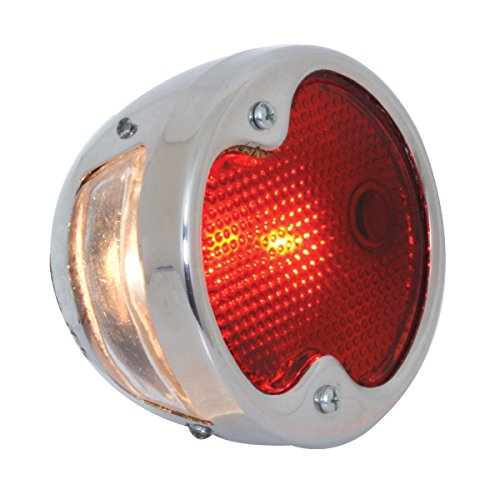57 1932 Ford Stainless Steel 12V Tail Light for Driver Side ()