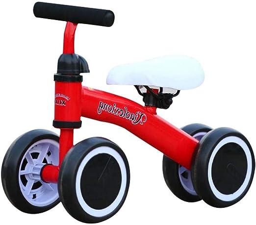 gouxia74534 Baby Balance Bike Bicicleta Juguetes para bebés para ...