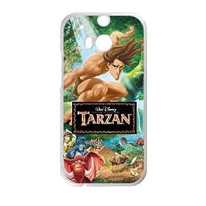 HTC One M8 White phone case Disney characters Tarzan DSN9685925