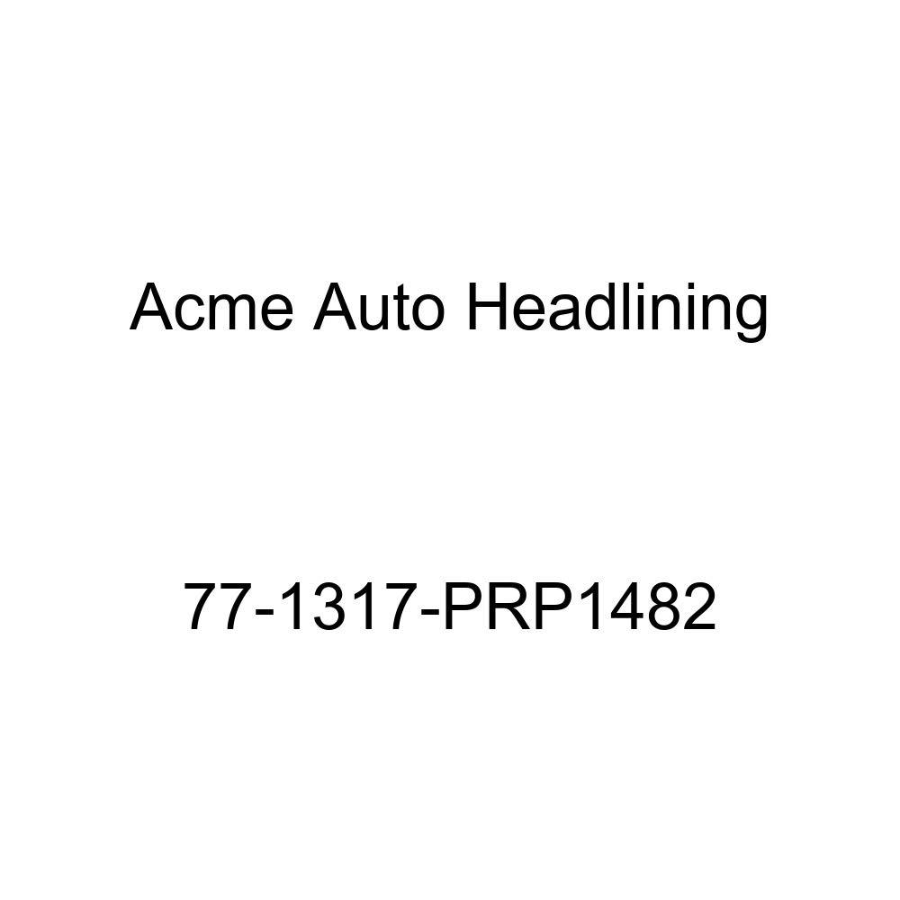 1977 Cadillac Seville 4 Door Sedan 5 Bow Acme Auto Headlining 77-1317-PRP1482 Medium Blue Replacement Headliner