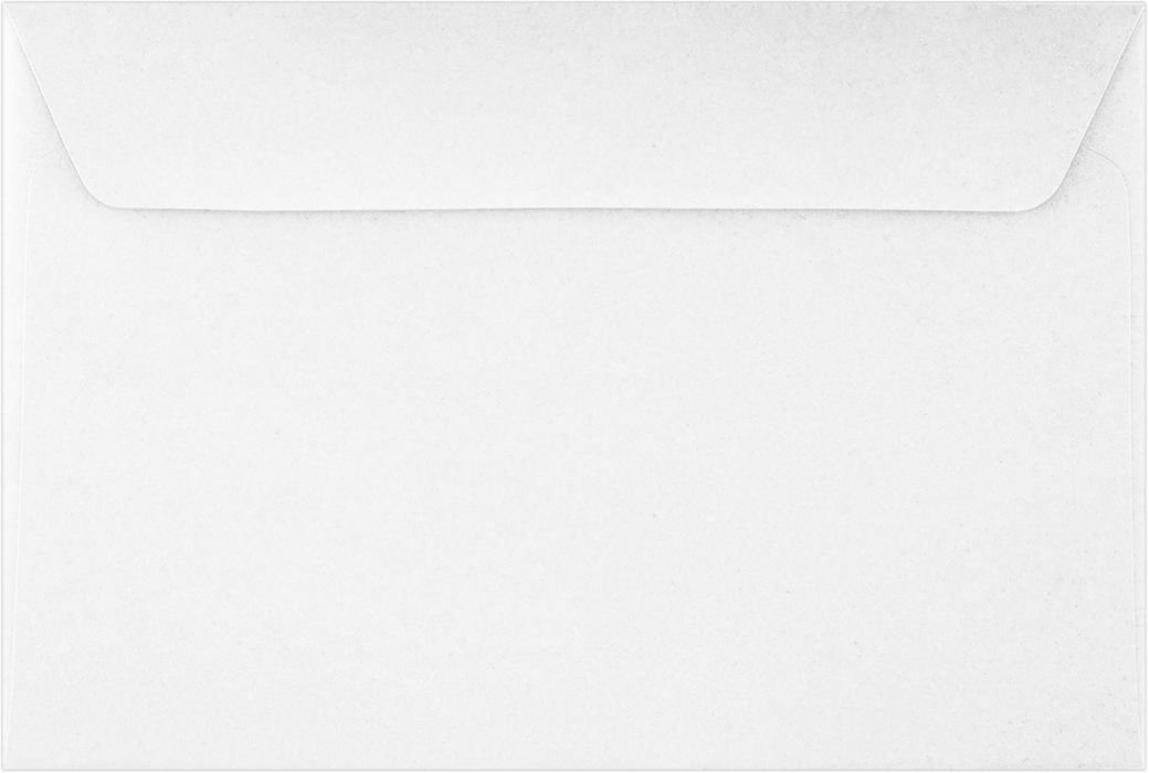 6 x 9 Booklet Envelopes - 24lb. Bright White (50 Qty) | Perfect for mailing Documents, Catalogs, Direct Mail, Promotional Material, Brochures and More| 11874-50 Envelopes.com