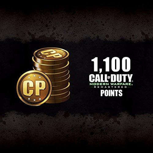 1,100 CoD Modern Warfare Remastered Points - PS4 [Digital Code]