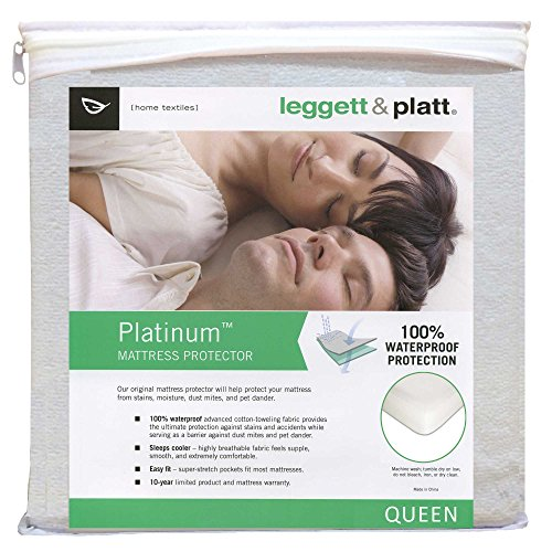 sleep-calm-mattress-protector-with-stain-and-dust-mite-defense-queen
