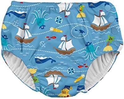 i play. Baby Boys' Snap Reusable Absorbent Swim Diaper-mm