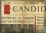 img - for LE NOUVEAU CANDIDE, 4 AU 11 MAI 1961, NUMBER ONE: MON JOURNAL A ALGER PENDANT LE PUTCH, FRANCOIS MAURIAC REPOND AUX QUESTIONS DE PIERRE DUMAYET SUR LE COMPLOT ET AUTRES ARTICLES book / textbook / text book