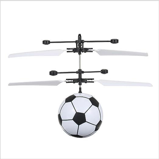 Wmchiwan Bola voladora, RC Flying Juguetes, Dron helicóptero, Bola ...