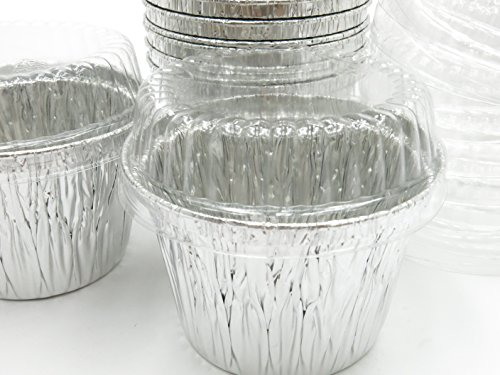 Disposable Aluminum 7 oz. Baking Cups/Cake Cups/Dessert Cups #1210P (2,000)