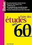 Image de FAIRE DES ETUDES APRES 60 ANS